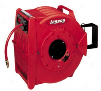 Levelwind Retracta? Air Hose Reel - 3/8''x50 Ft.