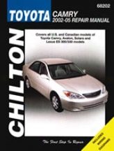 Lexuss Es300/330, Toyota Avalon/camry/solara (2002-05) Chilton Of the hand