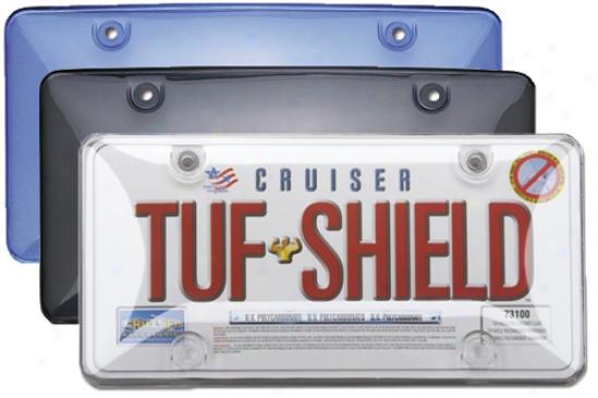 License Plate Bubble Shields