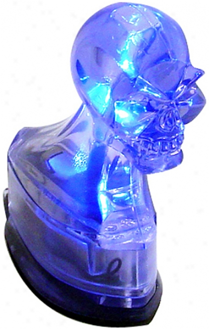 Lighted Skull Head Cover Ornament