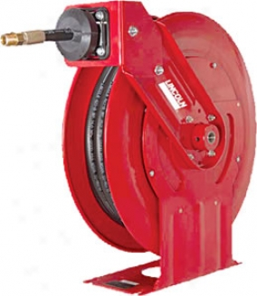 Lincoln Heavy Dut High Pressure Grease Hose Reel-1/4'' X 50'