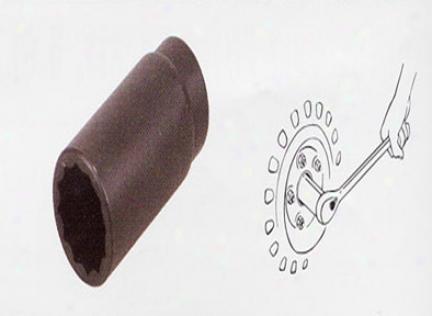 Lisle 12 Point Axle Nut Socket (30mm)