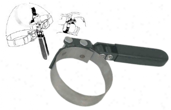 Lisle Swivel Grasp Small Oil Filter Wrench