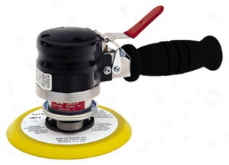Long Stroke Dual Action Air Sander With 6'' Pda