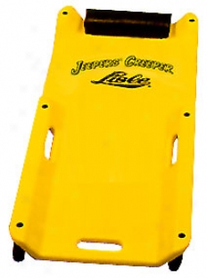 Low Profile Plastic Creeper (yellow)