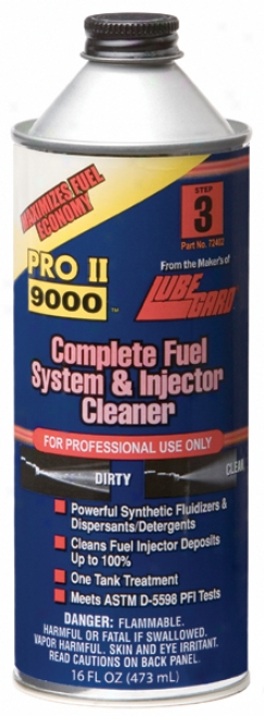Lubegard Complete Fuel System & Imjector Cleaner