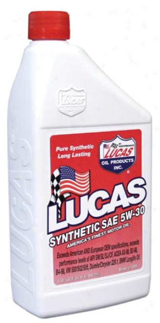 Lucas 5w30 Synthetic Motor Oil (1 Qt.)
