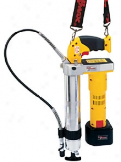 Lumax Superluber Cordless Grease Gun With Two 12v Batteries