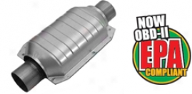 Magna Flow 91000 Series Universal Catalytic Converters (small Oval)