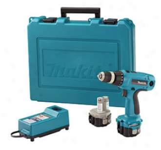 Makita 12v 3/8 Cordless Driver-drill With 2 Batteries Kit
