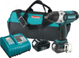 Makita 18v Lxt Lithium-ion 1/2'' Cordless Impact Wrench