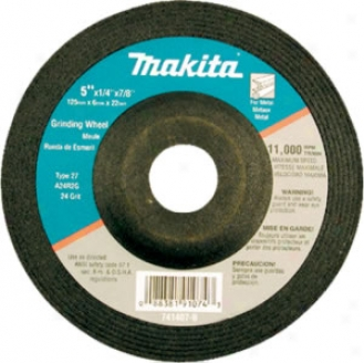Makita 4-1/'' Metal Grinding Wheel 5 Pk.