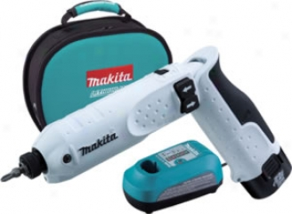 Makita 7.2v Cordless Lithium-ion Impact Driver Kit