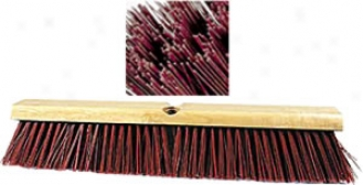 Marino 24'' Heavy Duty Wood Block Garage Push Broom Head