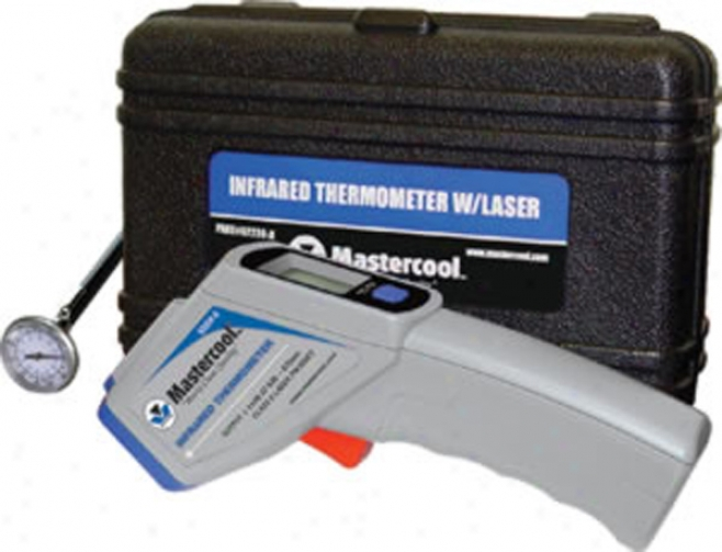 Mastercool Infrared Thermometer W/ Laser