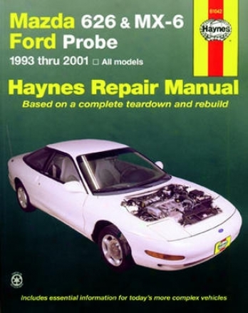 Mazda 626, Mx-6 & Ford Probe Haynes Repair Of the hand Covering (1993-2001)
