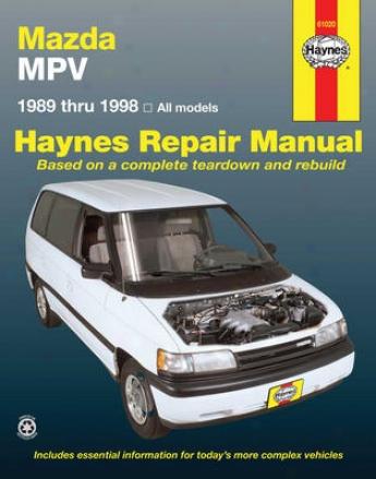 Mazda Mpv Haynes Repair Manual (1989-1998)