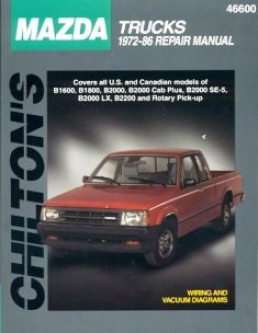 Mazda Trucks (1972-86) Chilton Manual .