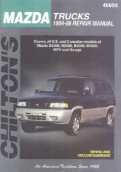 Mazda Trucks Chilton Manual (1994-1998)
