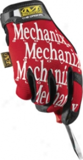 Mechanix Wear Original Glove - Red; X-large