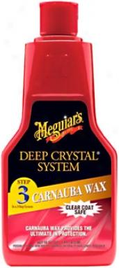 Meguiar's Deep Crystal Carnauba Liquid Wax (16 Oz.)