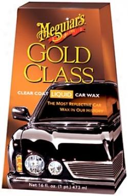 Meguiar's Gold Category Clear Coat Liqiid Wax (16 Oz.)
