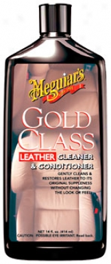 Meguiar's Gold Category Leather Cleaner & Conditioner (14 Oz.)