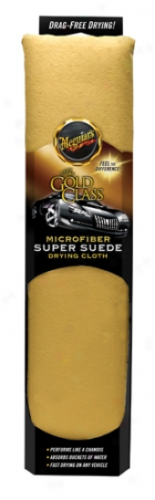 Meguiar's Gold Class Microfiber Suede Drying Towel