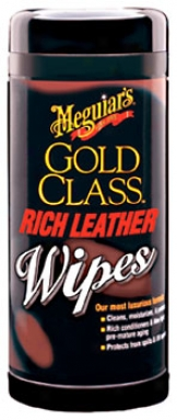 Meguiar's Gold Class Rich Leather Wipes (25 Ct.)