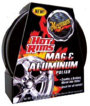Meguiar?s Hot Rims Mag & Aluminum Polish