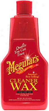 Meguiar's Liquid Cleaner Wax (16 Oz.)