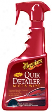 Meguiars Quik-detailer Cloud & Wipe