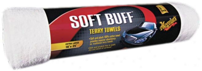 Meguiar?s Soft Buff? Terry Towels (2 Pack)