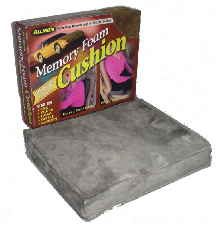 Memory Foam Square Seat Cushion