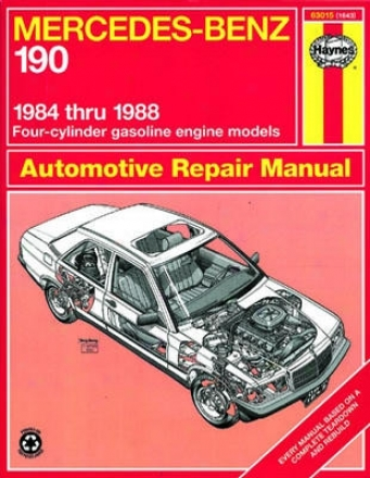 Mercedes Benz 190 Haynex Repair Manual (1984-1988)