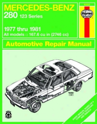 Mercedes Benz 280 & 123 Series Haynes Repair Manual (1977-1981)