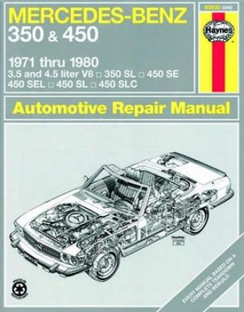 Mercedes Benz 350 & 450 Haynes Repair Manual (1971-1980)