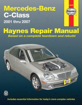 Mercedes Benz C-class Haynes Repair Manual (2001 - 2007)