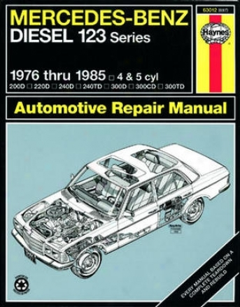 Mercedes Benz Diesel 123 Series Haynes Repair Manual (1976-1985)