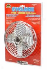 Metal Chrome Fan6 Inch Diam. By Wolo