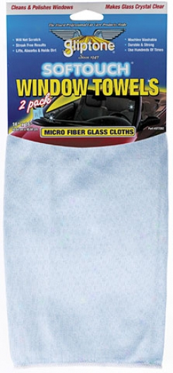 Micro Fiber Window Towels 2-pack