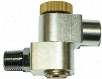 Milton 1/4? Npt Swivel Connector With Cover Flow Control
