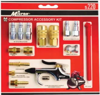 Milton Compressor Accessory Starter Kit