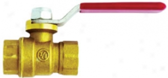 Milton Full Port Brass Ball Valve 1/4? X 1/4? Npt