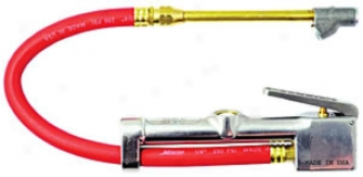 Milton Widnow Inflator Gage - Dual Head-straight