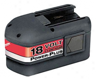 Milwaukee 18 Volt-2.4 Amp - Hr Power Plus Battery