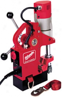 Milwaukee Compact Electromagnetic Drill Press Kit - 450 Rpm