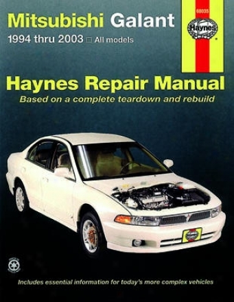 Mitsubishi Galant Haynes Repair Manual (1994-2003)