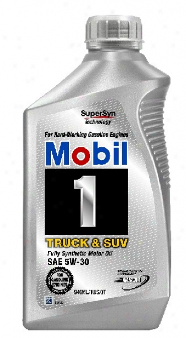 Mobil 1 Truck & Suv Synthetic Motor Oil 5w-30 (1qt)