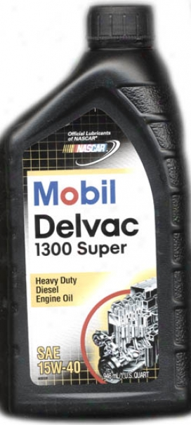 Mobil Delvac 1300 Super Motor Oil 15w-40 For Diesels